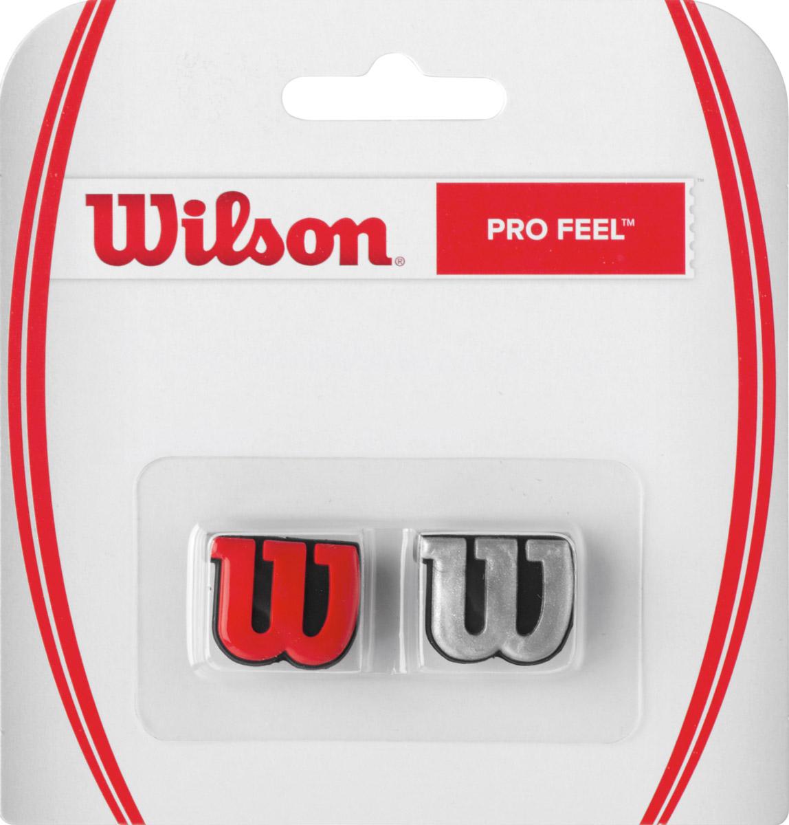 Виброгаситель Wilson Profeel RdsiWRZ537600Классика Wilson. Виброгаситель в форме основного символа бренда W, обеспечивает комфорт и обладает минимальным весом.
