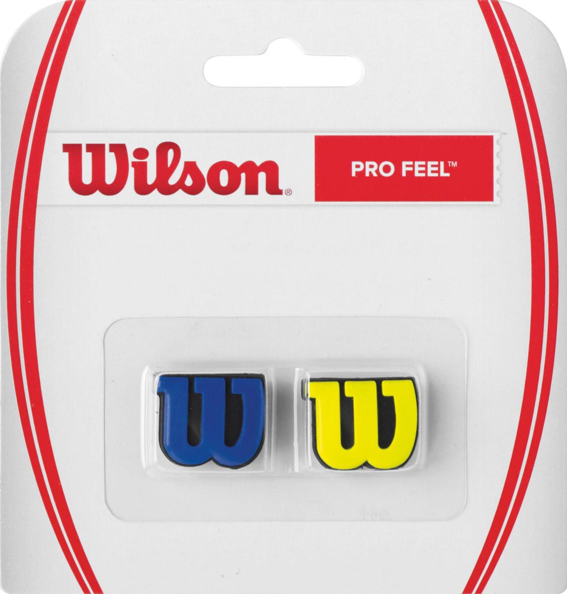 Виброгаситель Wilson Profeel BlyeWRZ537700Классика Wilson. Виброгаситель в форме основного символа бренда W, обеспечивает комфорт и обладает минимальным весом.
