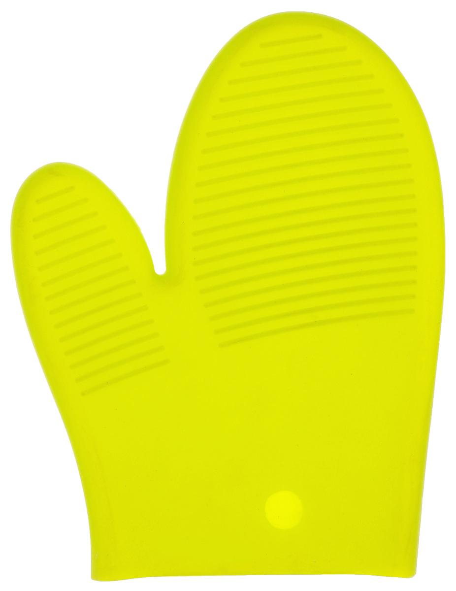 Прихватка-варежка силиконовая Mayer & Boch, цвет: зеленый, 22 х 16,5 см20041_зеленыйПрихватка-варежка Mayer & Boch изготовлена из прочного цветного силикона. Очень приятная на ощупь, невероятно гибкая, она способна выдерживать температуру от -40°C до +210°С. Эластична, износостойка, влагонепроницаема, легко моется, удобно и прочно сидит на руке. Благодаря такой прихватке, ваши руки будут защищены от ожогов, когда вы будете ставить в печь или доставать из нее выпечку. Подходит для мытья в посудомоечной машине.
