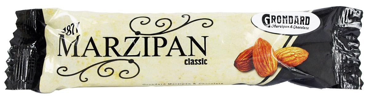 Grondard Marzipan батончик марципановый классический, 50 г