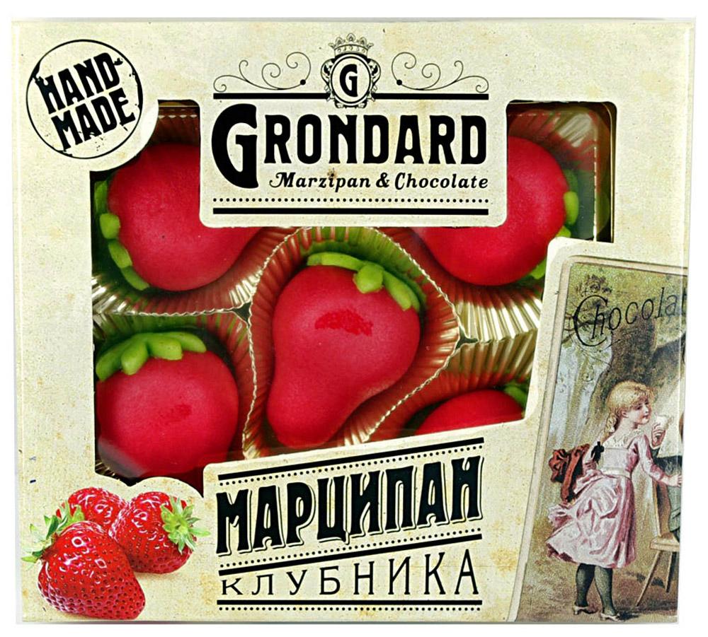 Grondard Marzipan конфеты марципановые в форме клубники, 100 г 14417