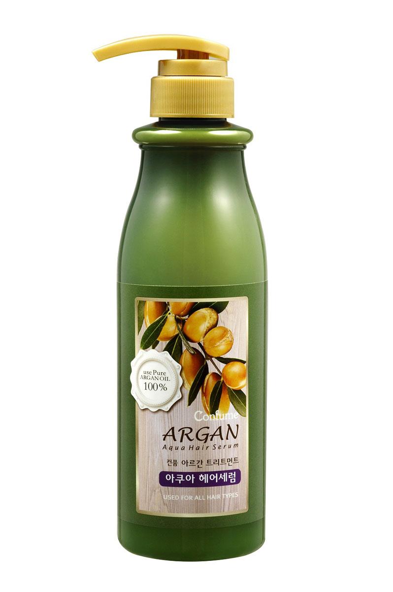 Confume Argan Аква сыворотка для волос аргановым маслом, 500 мл