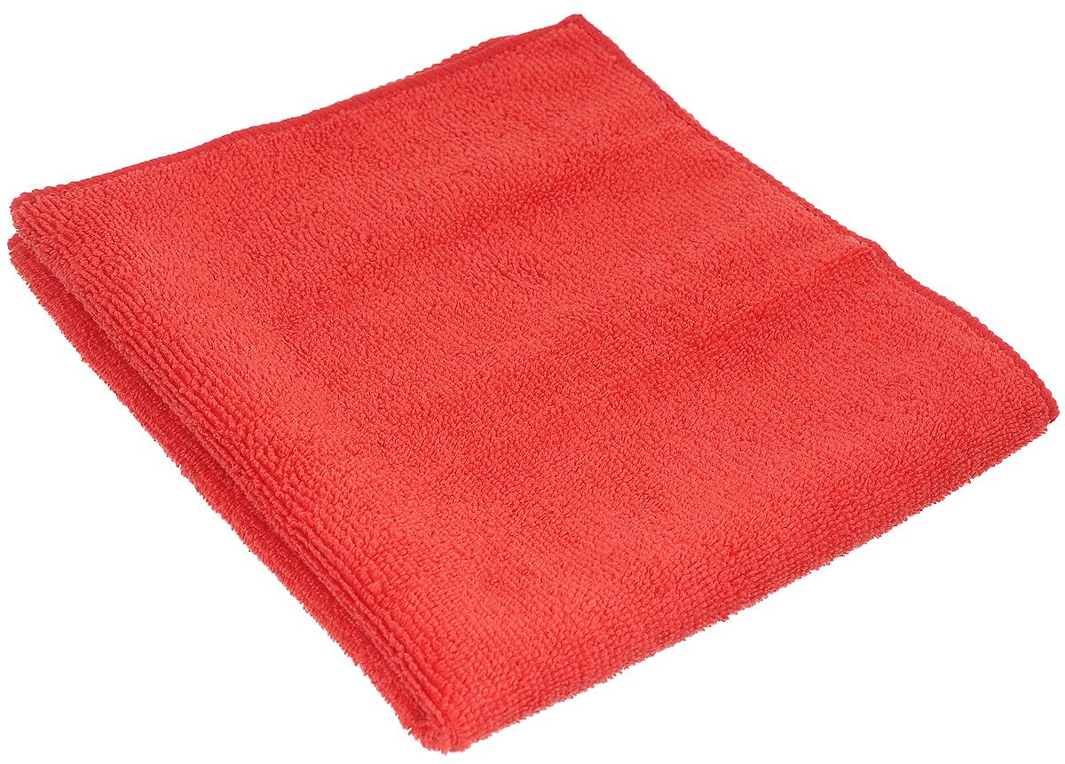 Салфетка чистящая Sapfire Cleaning Сloth, цвет: красный, 35 х 40 смSFM-3001_красныйБлагодаря своей уникальной ворсовой структуре, салфетка Sapfire Cleaning Сloth прекрасно подходит для мытья и полировки автомобиля. Материал салфетки: микрофибра (85% полиэстер и 15% полиамид), обладает уникальной способностью быстро впитывать большой объем жидкости. Клиновидные микроскопические волокна захватывают и легко удерживают частички пыли, жировой и никотиновый налет, микроорганизмы, в том числе болезнетворные и вызывающие аллергию. Протертая поверхность становится идеально чистой, сухой, блестящей, без разводов и ворсинок. Допускается машинная и ручная стирка слабым моющим раствором в теплой воде. Отбеливание и глажка запрещены. Размер салфетки: 35 х 40 см.