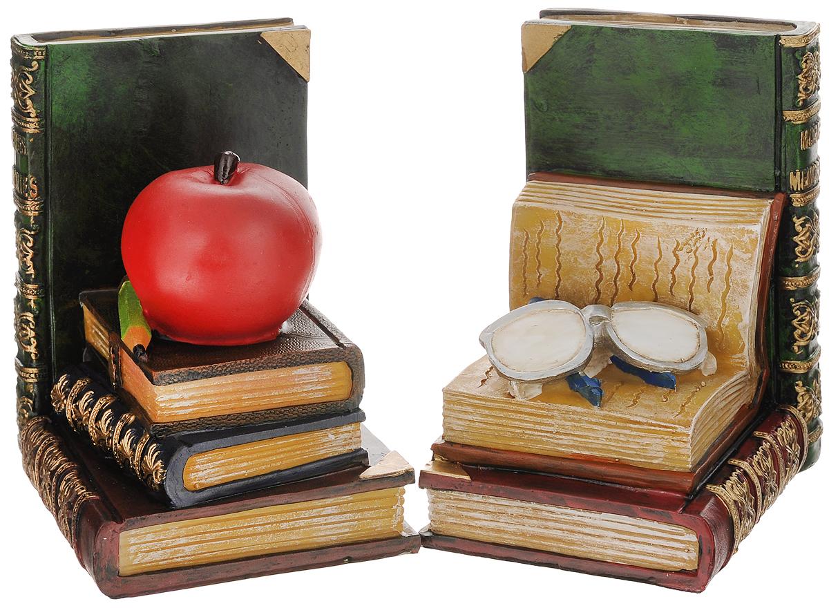 Подставка-ограничитель для книг Феникс-презент Наука, 2 шт36133_белые очкиПодставка-ограничитель для книг Наука, изготовленная из полирезины, состоит из двух частей, с помощью которых можно подпирать книги с двух сторон. Между ограничителями можно поместить неограниченное количество книг. Подставка-ограничитель для книг Наука - это не только подставка для книг, но и интересный элемент декора, который ярко дополнит интерьер помещения. Размер одной части подставки-ограничителя: 11,5 х 9,5 х 14,5 см. Комплектация: 2 шт.