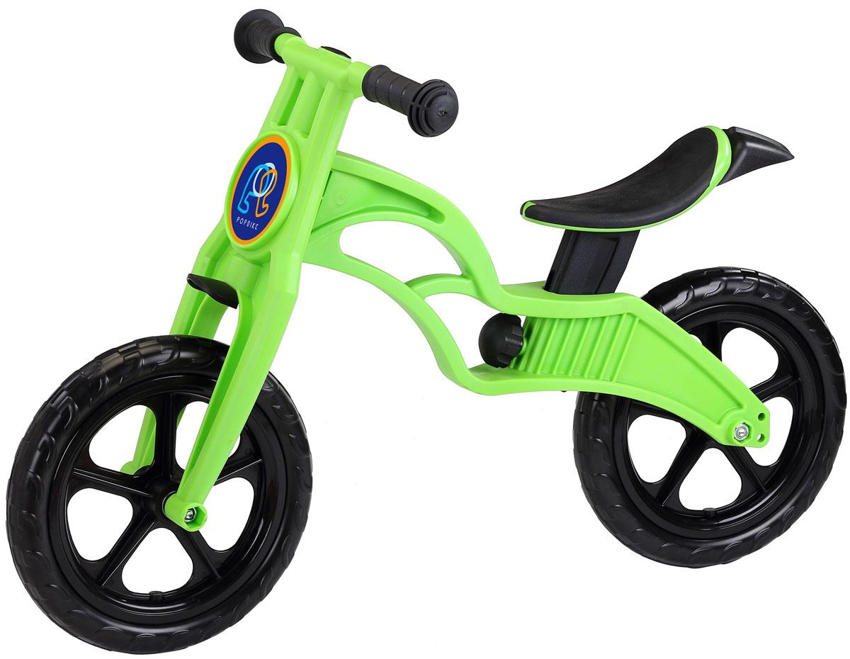 Pop Bike Детский беговел Sprint с бескамерными колесами цвет зеленый