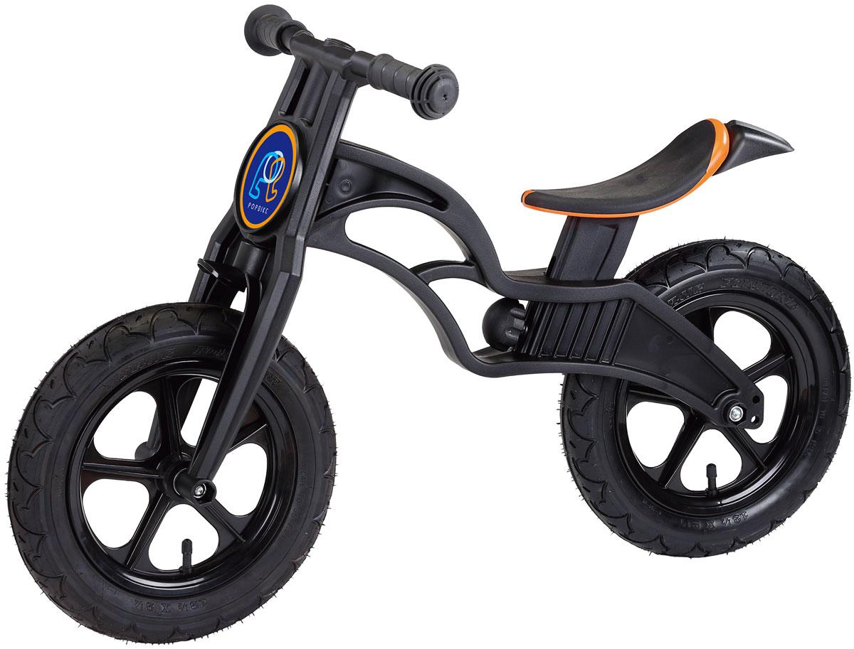 Pop Bike Детский беговел Flash с надувными колесами цвет черный SM-300-2-BLACK