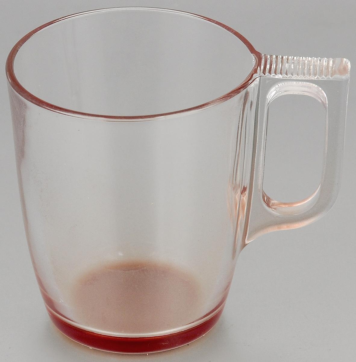 Кружка Luminarc Crazy Colors Red. 250 млJ3706Кружка Luminarc Crazy Colors Red, изготовленная из ударопрочного стекла, прекрасно подойдет для горячих и холодных напитков. Она дополнит коллекцию вашей кухонной посуды и будет служить долгие годы. Можно мыть в посудомоечной машине. Диаметр кружки (по верхнему краю): 7,5 см.
