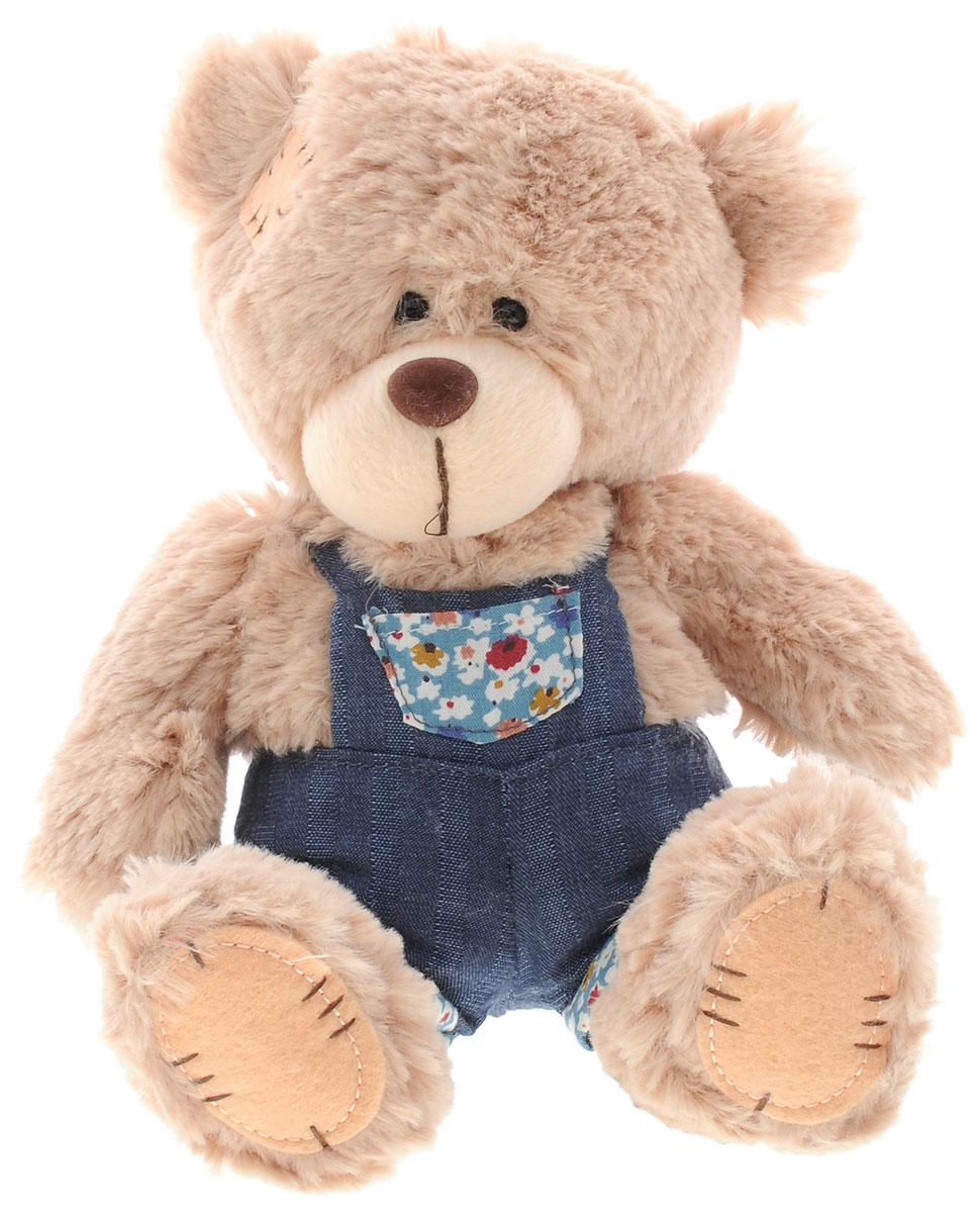 Sonata Style Мягкая игрушка Медведь в комбинезоне 20 смGT7458_в комбинезонеМягкая игрушка Sonata Style Медведь в комбинезоне не оставит вас равнодушным и вызовет улыбку у каждого, кто ее увидит. Медведь изготовлен из приятных на ощупь и очень мягких материалов. Игрушка выполнена в виде милого медвежонка в комбинезончике. Глазки и носик изготовлены из пластика. Такая игрушка вызывает умиление не только у детей, но и у взрослых. Мягкая игрушка Sonata Style Медведь в комбинезоне станет отличным подарком для ребенка!