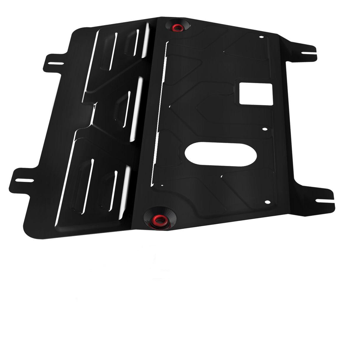 Защита картера и КПП Автоброня, для Nissan X-Trail, V2,0/Nissan Quasqai, V1,6, 2,0/Renault Koleos111.04111.1Технологически совершенный продукт за невысокую стоимость. Защита разработана с учетом особенностей днища автомобиля, что позволяет сохранить дорожный просвет с минимальным изменением. Защита устанавливается в штатные места кузова автомобиля. Глубокий штамп обеспечивает до двух раз больше жесткости в сравнении с обычной защитой той же толщины. Проштампованные ребра жесткости препятствуют деформации защиты при ударах. Тепловой зазор и вентиляционные отверстия обеспечивают сохранение температурного режима двигателя в норме. Скрытый крепеж предотвращает срыв крепежных элементов при наезде на препятствие. Шумопоглощающие резиновые элементы обеспечивают комфортную езду без вибраций и скрежета металла, а съемные лючки для слива масла и замены фильтра - экономию средств и время. Конструкция изделия не влияет на пассивную безопасность автомобиля (при ударе защита не воздействует на деформационные зоны кузова). Со штатным крепежом. В комплекте инструкция по...