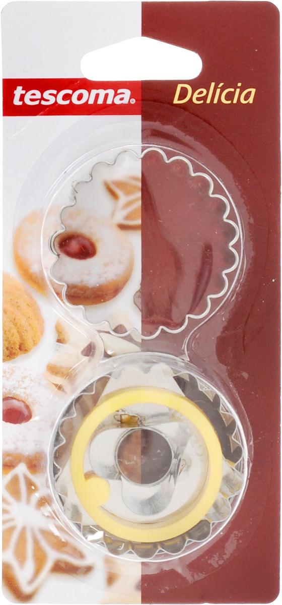 Пресс-форма для печенья Tescoma Сердечко, диаметр 5 см631250_сердечкоПресс-форма Tescoma Сердечко для печенья выполнена из высококачественного металла и пластика. С помощью пресс-формы вырежьте из теста форму, перенесите на лист и нажатием пружины выдавите тесто. Не рекомендуется мыть в посудомоечной машине. Диаметр формы: 5 см.