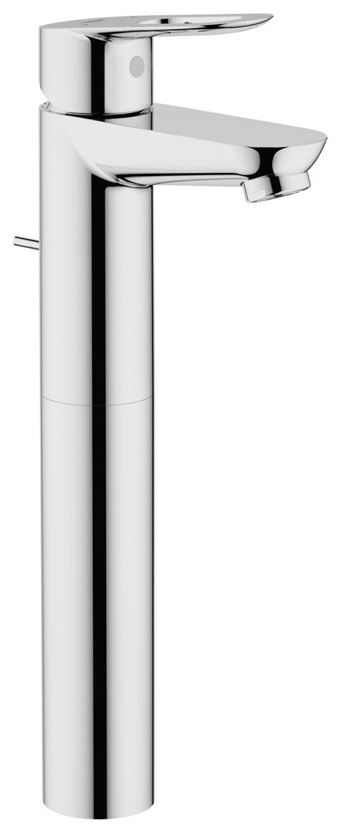 Смеситель однорычажный для раковины DN 15 (32856000)32856000для свободностоящих раковин металлический рычаг керамический картридж 28 мм в цвете хром аэратор сливной гарнитур 1 1/4 гибкая подводка система быстрого монтажа