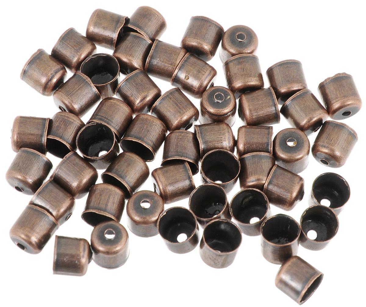 Шапочка для бусин Астра, цвет: медь, 6 х 5 мм, 50 шт. 77057147705714_медьНабор Астра, изготовленный из металла, состоит из 50 шапочек для бусин. Набор позволит вам своими руками создать оригинальные ожерелья, бусы или браслеты. Шапочки обрамляют бусины и придают законченный красивый вид изделию. Их можно крепить как с одной, так и с обеих сторон бусины. Это прекрасная фурнитура для создания бижутерии. Изготовление украшений - занимательное хобби и реализация творческих способностей рукодельницы, это возможность создания неповторимого индивидуального подарка.