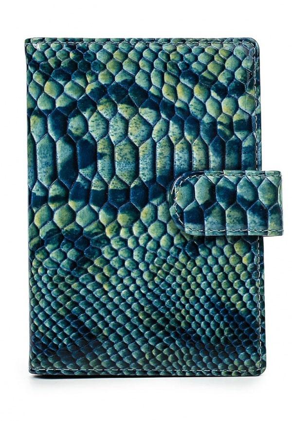 Обложка для документов Leo Ventoni, цвет: зеленый. L330223-01/blue pitonL330223-01_зеленыйОбложка для документов Leo Ventoni, цвет: зеленый. L330223-01/blue piton