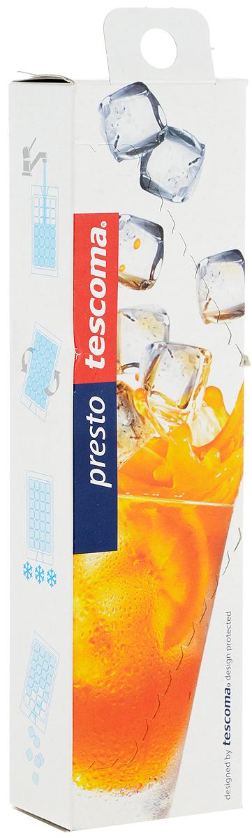 Набор мешков для льда Tescoma Presto, на 280 кубиков420705Самозакрывающиеся мешочки Tescoma Presto, выполненные из пищевого полиэтилена, предназначены для замораживания больших кубиков льда. Изделия не пропускают запахи из холодильника и легки в использовании. Количество ячеек для льда: 280 шт.