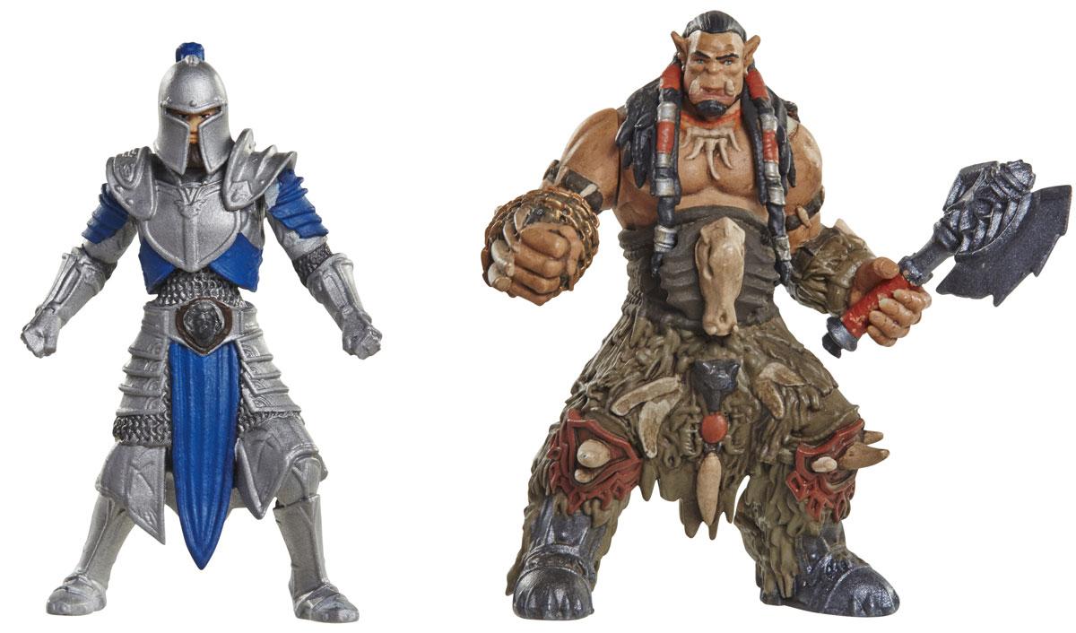 Warcraft. Набор фигурок Дуротан и Солдат Альянса