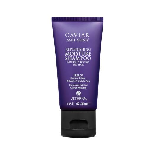 Alterna Увлажняющий шампунь c морским шелком Caviar Anti-Aging Replenishing Moisture Shampoo - 40 мл