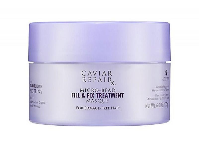 Alterna Интенсивная маска Молекулярное восстановление структуры Caviar Repair Rx Micro-Bead Fill & Fix Treatment Masque - 150 мл67161Маска глубоко восстанавливает волосы благодаря микрокапсулам протеина, которые питают и укрепляют каждую прядь, при этом облегчая процесс укладки. Эти сильнодействующие ингредиенты помогают регенерировать структуру волос изнутри. Они заполняют все повреждения кутикулы волоса, которые вызваны негативными факторами. Маска питает и увлажняет волосы, а так же делает волосы более послушными при укладке. После применения волосы становятся идеально мягкими, блестящими и полностью восстановленными. Не содержат: парабенов, глютенов, хлорида натрия, флататов и синтетических красителей. При этом производство не наносит вред окружающей среде. Не тестируется на животных. Способ применения: Наносить на чистые волосы. Перед использованием удалить лишнюю воду. Оставить на 3 минуты. Тщательно промыть волосы. Использовать ежедневно или несколько раз в неделю для интенсивного восстановления. Для максимального эффекта рекомендуется использовать совместно с Caviar Repair RX Instant...