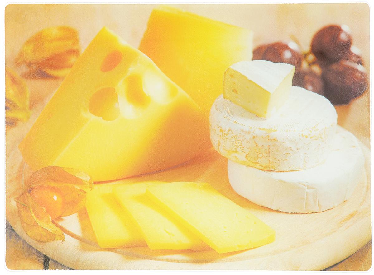 Доска разделочная Mayer & Boch, 40 х 30 см23300_сыр1Разделочная доска Mayer & Boch выполнена из высококачественного стекла имеет гладкую поверхность, которая предотвратит появление разводов, царапин и появление бактерий. Изделие можно использовать как подставку под горячую посуду. Доску можно использовать для раскатывания теста, подачи на стол сыров, пиццы и других блюд. Изделие легко мыть. Ее достаточно просто протереть влажной таканью, также это поможет избежать царапин.