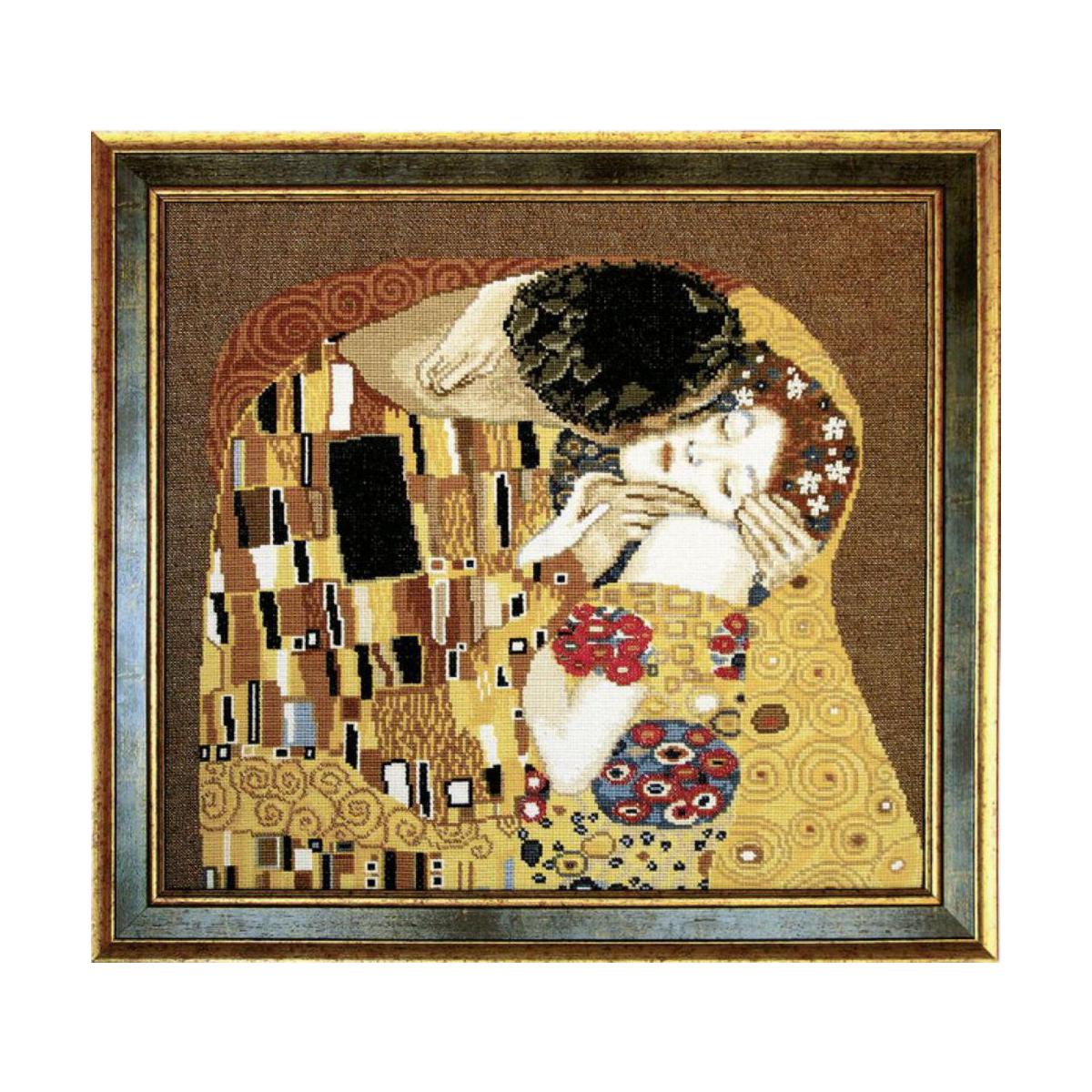 Набор для вышивания Чаривна Мить Поцелуй, 42 см х 38 см. 411648157