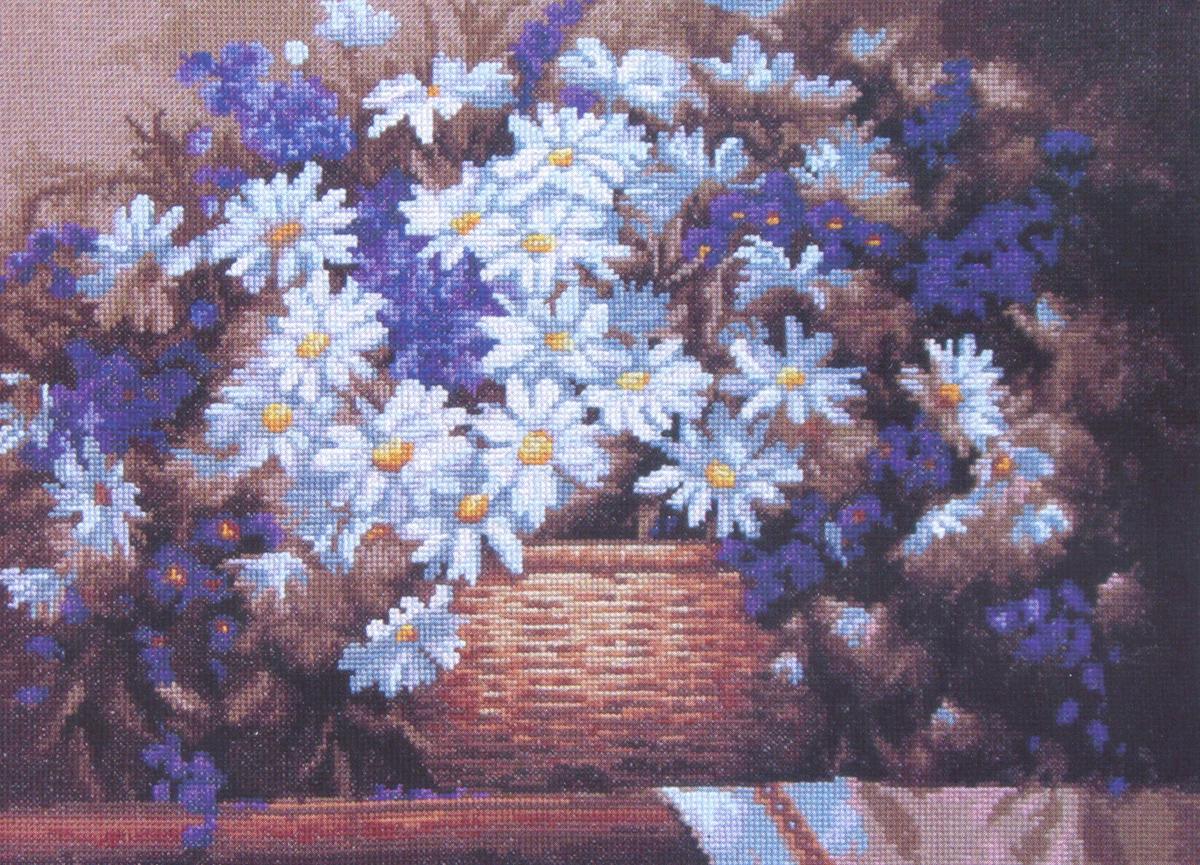 Набор для вышивания Чаривна Мить Ромашки, 37 см х 27 см. 456648356