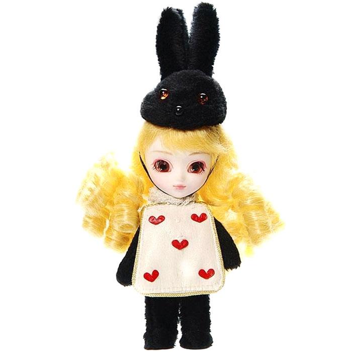 Groove Кукла Little Pullip Мартовский заяцGRVF843Дизайнерские куклы от японской компании Groove могут похвастаться множеством подвижных шарнирных соединений, своей собственной историей и уникальным внешним видом — каждая кукла из этой серии обладает индивидуальной причёской и макияжем. С помощью специального механизма, расположенного в голове, можно изменять направление взгляда и закрывать глаза. В комплекте: головной убор пилота, очки, ранец, ружьё, подставка Материал: пластик Высота куклы: 30 см