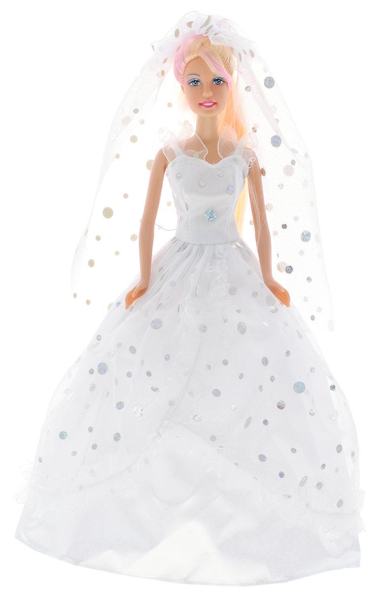 Defa Кукла Lucy в свадебном платье цвет белый