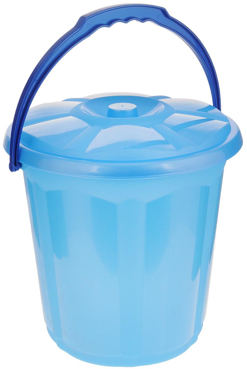 Ведро для мусора Dunya Plastik Стиль, с крышкой, цвет: голубой, 15 л9104_голубойВедро Dunya Plastik Стиль изготовлено из прочного пластика. Ведро оснащено закрывающейся крышкой и удобной ручкой. Такое ведро прекрасно подойдет для различных хозяйственных нужд: для уборки или хранения мусора Диаметр ведра (по верхнему краю): 30 см. Высота (без учета крышки): 30,5 см.