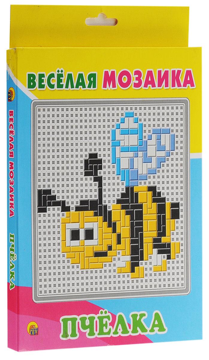 Рыжий Кот Мозаика ПчелкаМ-1540Детская мозаика Пчелка станет замечательной игрушкой для вашего ребёнка! Благодаря данной мозаике малыш сможет самостоятельно создать изображение забавной пчелки и много других оригинальных рисунков. Игра прекрасно развивает творческое воображение, абстрактное и логическое мышление, внимание, мелкую моторику рук, а также учит различать цвета и оттенки. Мозаика понравится ребёнку яркими деталями, хорошим качеством и разными вариантами складывания изображений. Она станет увлекательным и полезным занятием для детей! Собирание мозаики - это творческое занятие, которое способствует развитию координации движений, мелкой моторики, цветового восприятия и усидчивости. Эта легкая, удобная и очень яркая игра непременно порадует вашего ребенка.