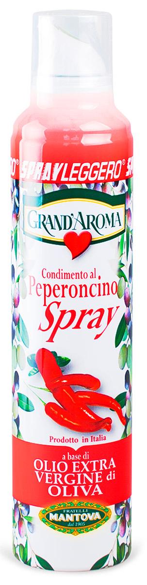 Fratelli Mantova Extra Virgin оливковое масло c перцем спрей, 250 мл