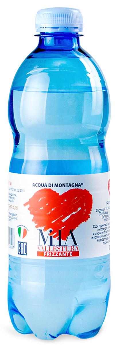 Mia вода минеральная негазированая, 500 млBF.003.AQНегазированная вода природной минерализации. Эта вода приходит из горных источников, расположенных в пышной долине Стура в Приморских Альпах. Местные высокогорные источники дают чистую, минимально минерализованную воду (фиксированный минеральный остаток - 47 мг/л). Вода обладает чистым, легким, нейтральным вкусом, в ней отсутствуют жиры и аллергены.