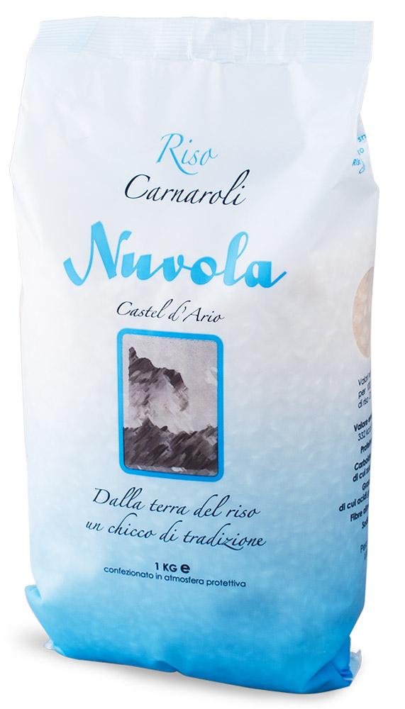 Riso Nuvola Карнароли рис, 1 кгBF0002Riso Nuvola Карнароли - самый дорогой и наиболее универсальный из трех сортов риса, используемых для приготовления ризотто. Был получен путем скрещивания японского риса и сорта Vialone. Обеспечит идеальное качество и отменный сливочный вкус ризотто.