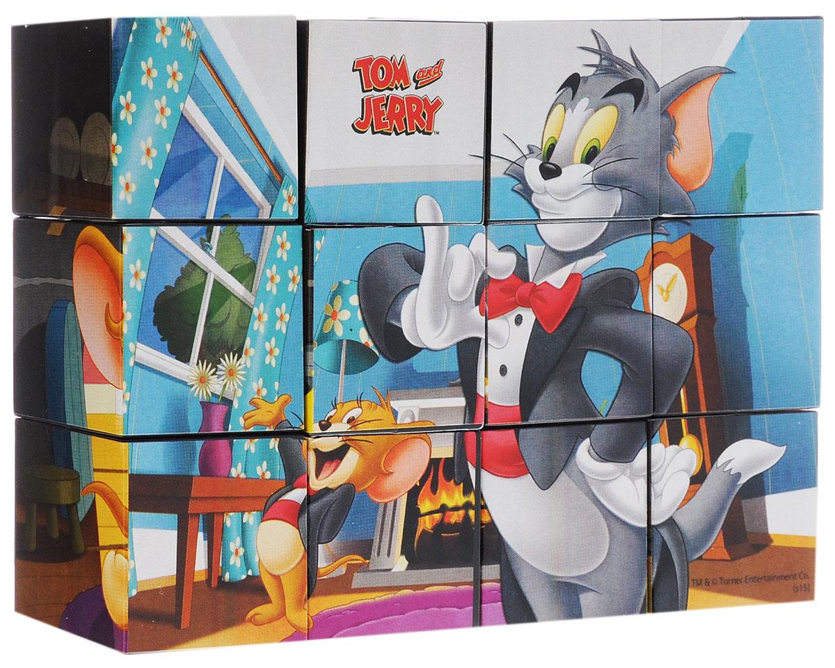 Рыжий Кот Кубики Том и ДжерриК12-9738Кубики Том и Джерри включают в себя 12 кубиков, на каждой грани которых расположен элемент рисунка. Всего малыш сможет собрать 6 красочных рисунков с забавными эпизодами из мультфильмов о мышонке и коте. Кубики выполнены из прочного безопасного пластика. Они очень приятные на ощупь, их грани идеально ровные, малышу непременно понравится держать их в руках, рассматривать и строить из них различные конструкции. А собирание ярких картинок с героями любимых мультфильмов поможет малышу развить навыки логического мышления и познакомиться с разными цветами и их названиями. Игры с кубиками развивают мелкую моторику рук, цветовое восприятие и пространственное мышление. Ребенку непременно понравится учиться и играть с кубиками, такие игры не только надолго займут внимание малыша, но и помогут ему развить мелкую моторику, пространственное мышление, зрительное и тактильное восприятие, а также воображение и координацию движений.