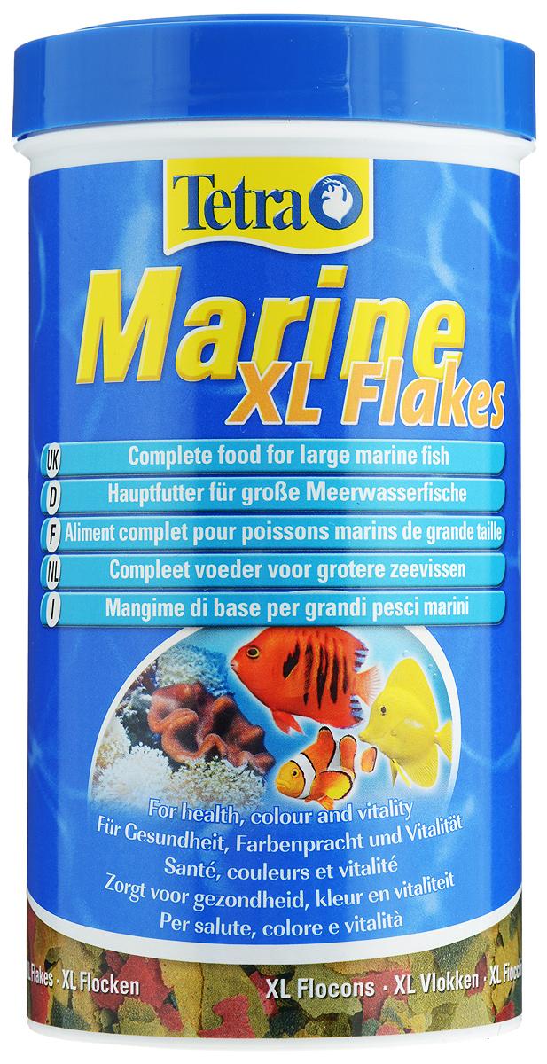Корм Tetra Marine. XL Flakes для любых морских рыб, крупные хлопья, 500 мл (80 г)176010Корм Tetra Marine. XL Flakes - полноценный основной корм для мелких и крупных морских рыб в виде хлопьев. Идеально сбалансированные компоненты (фукус, водоросли спирулины, высококачественные рыбные жиры и морские креветки) гарантируют полноценное и здоровое питание. Стандартные и крупные хлопья (XL) являются идеальным кормом для рыб средних и больших размеров. Рекомендации по кормлению: кормить несколько раз в день маленькими порциями. Состав: рыба и побочные рыбные продукты, растительные продукты, экстракты растительного белка, дрожжи, зерновые культуры, масла и жиры, водоросли, минеральные вещества. Пищевая ценность: сырой белок - 46%, сырые масла и жиры - 8,5%, сырая клетчатка - 2%, влага - 6%. Добавки: витамины, провитамины и химические вещества с аналогичным воздействием, витамин А 36400 МЕ/кг, витамин Д3 2045 МЕ/кг. Комбинации элементов: Е5 Марганец 78 мг/кг, Е6 Цинк 46 мг/кг, Е1 Железо 30 мг/кг, Е3 Кобальт 0,6 мг/кг....