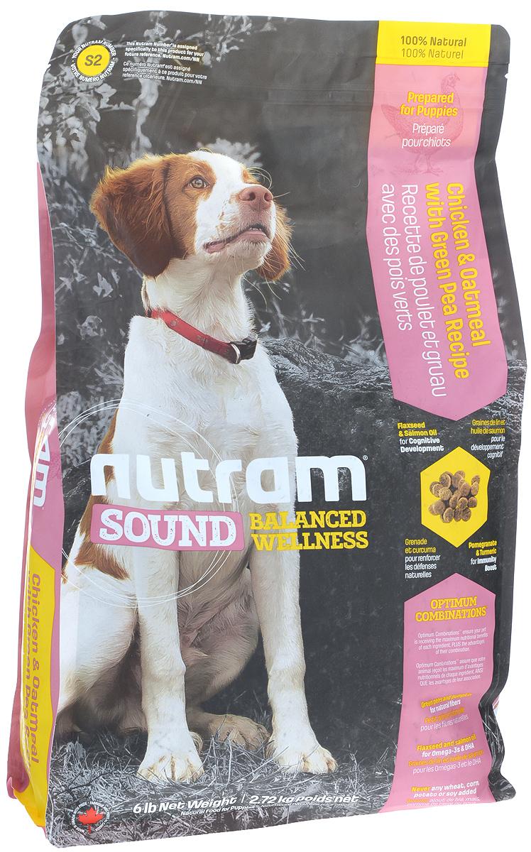 Корм сухой Nutram Sound Puppy для щенков, 2,72 кг83094Целостный, полезный, богатый питательными веществами корм Nutram Sound Puppy улучшает самочувствие и здоровье питомцев по принципу изнутри наружу. Подход Nutram к целостному питанию начинается со здорового развития. Семена льна и жир лососевых рыб - источники Омега-3 жирных кислот, поддерживают развитие мыслительных процессов у щенков. Смесь граната, богатого полифенолами, и куркумы, источника куркумина, позволяет системе Оптимальных Сочетаний снабжать питомцев антиоксидантами, которые помогают поддерживать иммунную систему. Вы можете быть уверены, щенок будет здоровым, а его питание будет вкусным и полезным. Содержит мясо курицы, овсяную муку и зеленый горошек Натуральная клетчатка тыквы помогает сделать переход от материнского молока к корму более легким Жир лососевых рыб и семена льна используются в качестве источника полиненасыщенных и Омега-3 жирных кислот Не содержит пшеницу, кукурузу, картофель или сою в любом виде. Состав: дегидрированное мясо...