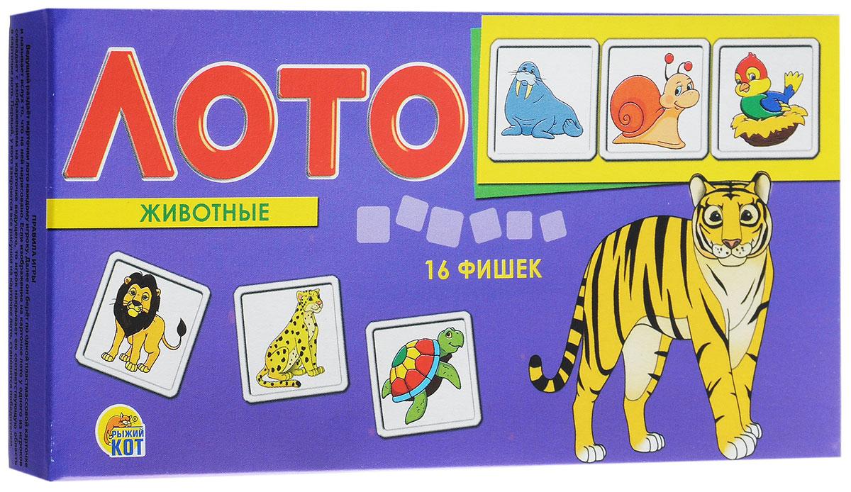 Рыжий Кот Лото ЖивотныеИН-9054Настольная игра Рыжий Кот Лото. Животные - познавательная игра, которая позволит весело провести время, как детям, так и взрослым. Она развивает логическое и ассоциативное мышление, помогает в дошкольной подготовке. Игра познакомит ребенка с разными животными, обитающими в дикой природе. В настольной игре могут принять участие 2-3 игрока. Ведущий раздает карточки лото каждому игроку, а затем берет по одной пластиковой карточке с рисунком, показывает игрокам и называет вслух то, что на ней изображено. Если изображение на карточке лото у одного из игроков совпадает с изображением на карточке ведущего, то игрок накрывает ею соответствующую область в карточке лото. Игра продолжается до тех пор, пока все рисунки на карточке лото не будут закрыты. Первый, кто справится с этим заданием, становится победителем. В набор входит 16 пластиковых фишек, 4 игровых поля.