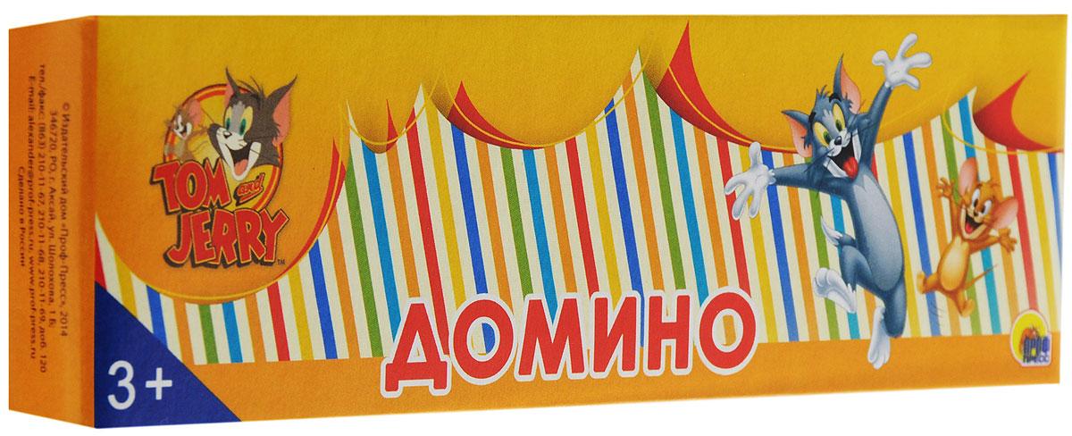 Рыжий Кот Домино Том и ДжерриИН-9851Домино Рыжий Кот Том и Джерри позволит вам и вашему малышу весело и с пользой провести время, ведь совместная игра - лучший способ узнать ребенка и научить его чему-нибудь новому. В комплект входит 28 костяшек домино с красочными изображениями любимых героев из мультсериала Том и Джерри. Игра в домино подарит малышу множество веселых мгновений, а также поможет развить внимательность, пространственное мышление и мелкую моторику.
