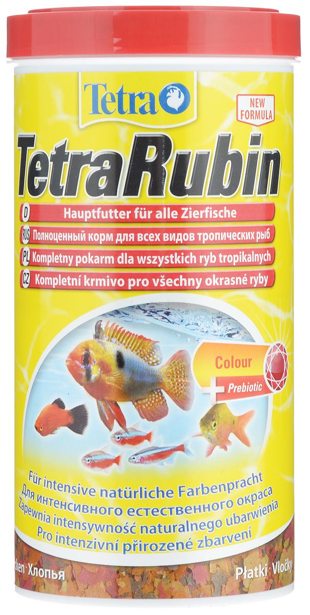 Корм Tetra TetraRubin для улучшения окраса всех видов тропических рыб, 1 л (200 г)204416Корм Tetra TetraRubin - биологически сбалансированный корм в виде хлопьев с натуральными добавками для усиления естественной окраски рыб. Высокое содержание усилителей естественного цвета и специальных ингредиентов обеспечивает красивый окрас для всех красных, оранжевых и желтых тропических рыб. Эффект усиления цвета заметен уже через две недели кормления. Корм содержит полноценный сбалансированный комплекс витаминов, питательных веществ и микроэлементов. Запатентованная БиоАктив-формула поддерживает работоспособность иммунной системы, обеспечивая высокую продолжительность жизни. Стабилизированный витамин С обеспечивает повышенную устойчивость организма рыбы к болезням, ускоряет рост и устраняет симптомы болезней, связанных с недоеданием. Кормить несколько раз в день небольшими порциями. Состав: рыба и побочные рыбные продукты, зерновые культуры, дрожжи, экстракты растительного белка, моллюски и раки, масла и жиры, сахар (олигофруктоза 0,9%),...