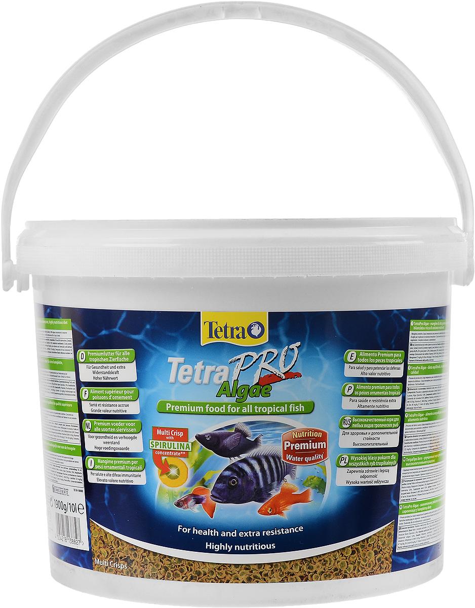 Корм Tetra TetraPro. Algae для всех видов тропических рыб, чипсы, 10 л (1,9 кг)138827Полноценный высококачественный корм Tetra TetraPro. Algae для всех видов тропических рыб разработан для поддержания здоровья и придания дополнительной стойкости. Особенности Tetra TetraPro. Algae: - щадящая низкотемпературная технология изготовления для высокой питательной ценности и стабильности витаминов; - концентрат спирулина для повышения сопротивляемости организма; - инновационная форма чипсов для минимального загрязнения воды; - идеально подходит для растительноядных рыб; - легкое кормление. Рекомендации по кормлению: кормить несколько раз в день маленькими порциями. Состав: рыба и побочные рыбные продукты, зерновые культуры, экстракты растительного белка, дрожжи, моллюски и раки, масла и жиры, водоросли (спирулина 1%). Аналитические компоненты: сырой белок - 46%, сырые масла и жиры - 12%, сырая клетчатка - 3%, влага - 9%. Добавки: витамины, провитамины и химические вещества с аналогичным воздействием,...