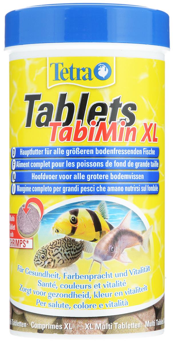 Корм Tetra Tablets TabiMin XL для всех видов крупных донных рыб, 250 мл (135 г), 133 таблетки210011Корм Tetra Tablets TabiMin XL - высококачественный сбалансированный питательный корм в виде двухцветных таблеток для любых видов крупных донных рыб. Таблетки быстро погружаются, благодаря чему их можно разместить рядом с укрытиями пугливых рыб. Корм быстро размягчается и легко съедается, не разлагаясь и не загрязняя воду. Корм содержит все необходимые питательные вещества, витамины и микроэлементы. Новая формула универсальных таблеток содержит креветки для улучшенного вкуса. Стабилизированный витамин C помогает укрепить иммунитет особей, ускорить их рост и устранить последствия недоедания. Содержит богатые естественными минералами морские водоросли и каротеноиды для улучшения окраски. Все корма Tetra хорошо перевариваются и благодаря этому снижают загрязнение, обеспечивая чистоту и прозрачность воды. Кормить несколько раз в день небольшими порциями. Товар сертифицирован.