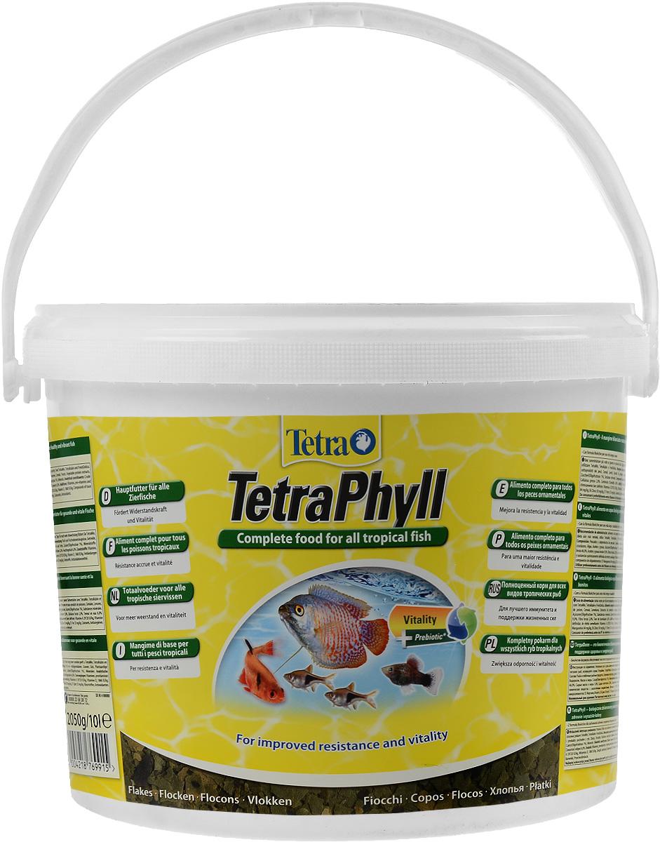 Корм Tetra TetraPhyll для всех видов тропических рыб, хлопья, 10 л (2,05 кг)769915Корм Tetra TetraPhyll - превосходная смесь хлопьев со специальным растительным комплексом для полноценного питания и ежедневного кормления. Идеальный корм для всех травоядных тропических рыб. Высокое содержание растительных компонентов способствует улучшению здоровья и поддержанию жизненных сил рыб. Незаменимые волокна стимулируют пищеварение, что особенно необходимо травоядным рыбам. Запатентованная БиоАктив-формула обеспечивает высокую продолжительность жизни и хорошее здоровье рыб. Состав: рыба и побочные рыбные продукты, зерновые культуры, дрожжи, экстракты растительного белка, моллюски и раки, водоросли, масла и жиры, сахар (олигофруктоза 1%), минеральные вещества. Аналитические компоненты: сырой белок 46%, сырые масла и жиры 9%, сырая клетчатка 2%, влага 6%. Добавки: витамины, провитамины и химические вещества с аналогичным воздействием: витамин A 29720 МЕ/кг, витамин Д3 1860 МЕ/кг. Комбинации микроэлементов: Е5...