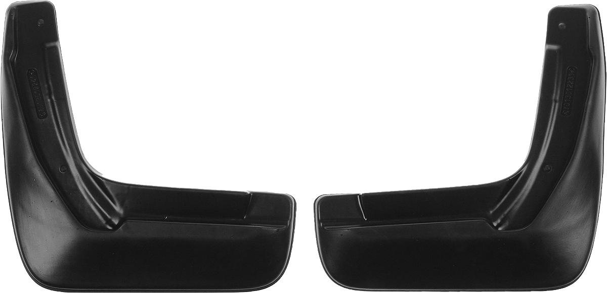 Комплект задних брызговиков L.Locker, для Honda CR-V (06-), 2 шт7013012261Комплект L.Locker состоит из 2 задних брызговиков, изготовленных из высококачественного полиуретана. Уникальный состав брызговиков допускает их эксплуатацию в широком диапазоне температур: от -50°С до +80°С. Изделия эффективно защищают кузов автомобиля от грязи и воды, формируют аэродинамический поток воздуха, создаваемый при движении вокруг кузова таким образом, чтобы максимально уменьшить образование грязевой измороси, оседающей на автомобиле. Разработаны индивидуально для каждой модели автомобиля. С эстетической точки зрения брызговики являются завершением колесных арок. Установка брызговиков достаточно быстрая. В комплект входят необходимые крепежи и инструкция на русском языке. Комплект подходит для моделей с 2006 года выпуска. В комплект входит 2 самореза. Комплектация: Брызговик - 2 шт, Саморез - 2 шт. Размер брызговика: 32 х 34 х 3 см.