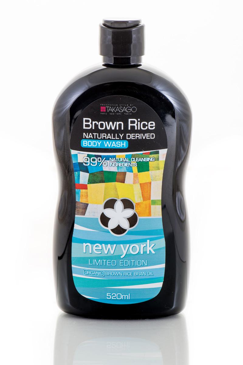 Brown Rice Гель для душа New York Naturally Derived, 520 мл 8809193043564