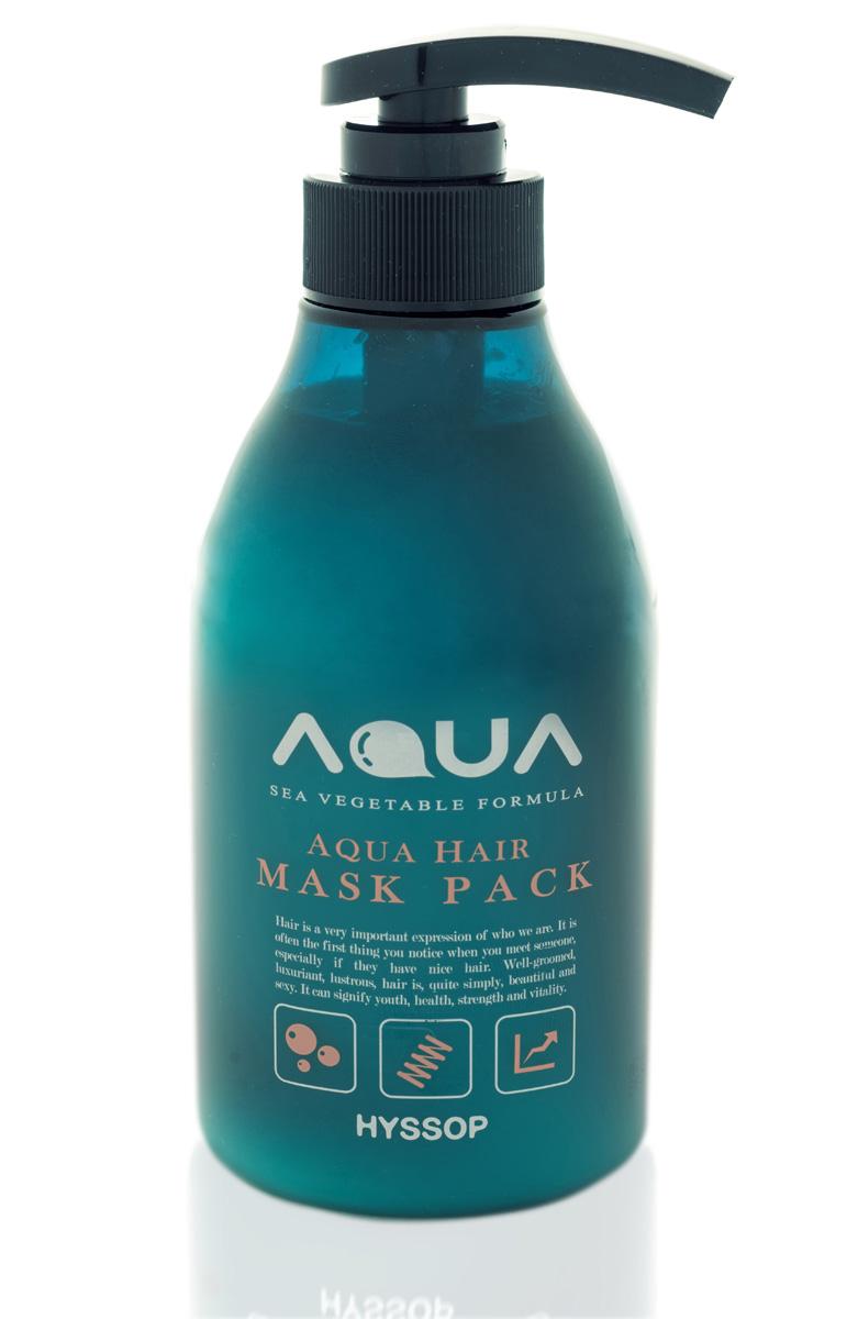 Aqua Маска питательный Hyssop, 400 мл8809291368019Маска для волос на основе морских водорослей и минералов класса люкс. Интенсивно увлажняет и восстанавливает волосы, устраняет ломкость. Защищает волосы от негативного воздействия окружающей среды, придает им силу и эластичность. Способствует более длительному сохранению цвета ваших волос. На основе морских водорослей Chlorella, Spirulina, Anthocyanin и органического экстракта синего зверобоя (hyssop organic extract). Питает и восстанавливает структуру волос. Повышает упругость и облегчает моделирование прически. Стимулирует, увлажняет, питает и защищает волосы от ежедневных стрессов. Содержит 60 морских минералов. Кислотный pH (идеален для окрашенных волос).