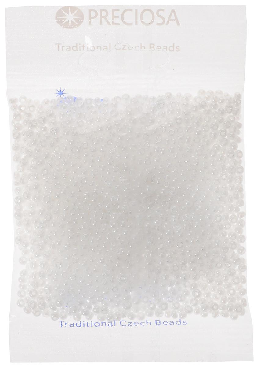 Бисер Preciosa, непрозрачный, с жемчужным покрытием, цвет: белый (57102), 8/0, 50 г172048Непрозрачный бисер Preciosa с жемчужным покрытием, изготовленный из стекла круглой формы, позволит вам своими руками создать оригинальные ожерелья, бусы или браслеты, а также заняться вышиванием. В бисероплетении часто используют бисер разных размеров и цветов. Он идеально подойдет для вышивания на предметах быта и женской одежде. Изготовление украшений - занимательное хобби и реализация творческих способностей рукодельницы, это возможность создания неповторимого индивидуального подарка. Размер бисера: 8/0.