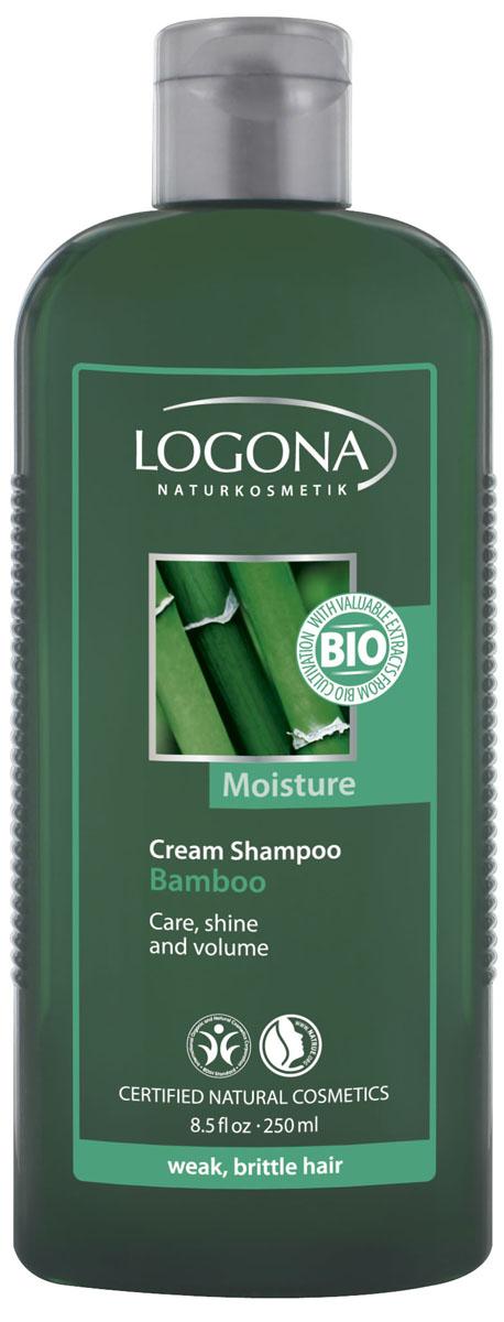 LOGONA Крем-шампунь с Экстрактом Бамбука 250 мл30474Уплотняет тонкие волосы. Крем-шампунь с экстрактом бамбука специально создан для того, чтобы удовлетворить особые потребности хрупких волос с ослабленной структурой. Входящее в состав шампуня масло семян брокколи уплотняет тонкие волосы, придает им густоту и объем. Экстракт бамбука интенсивно увлажняет и питает. Регулярное применение шампуня делает волосы более сильными и эластичными.