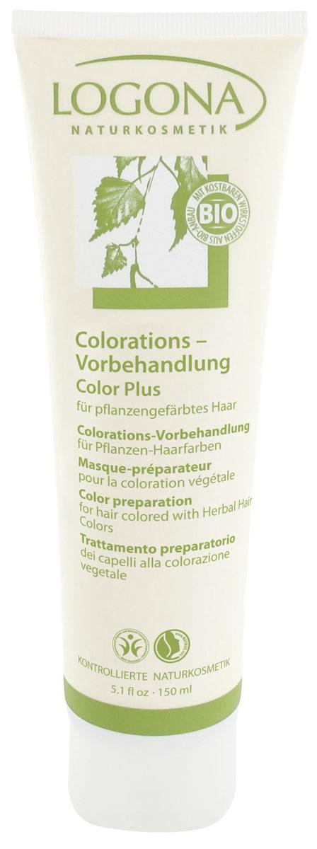 LOGONA Color Plus Средство для подготовки волос к окрашиванию 150 мл156LOGONA Color Plus средство для подготовки волос к окрашиванию - оптимальным образом подготавливает Ваши волосы к окрашиванию натуральными красками LOGONA. Особая формула с зеленой минеральной глиной и экстрактом березовых листьев интенсивно освобождает волосы от остатков средств ухода и стайлинга, частиц перхоти и излишков жира и действует так, что натуральные краски лучше ложатся на волосы.
