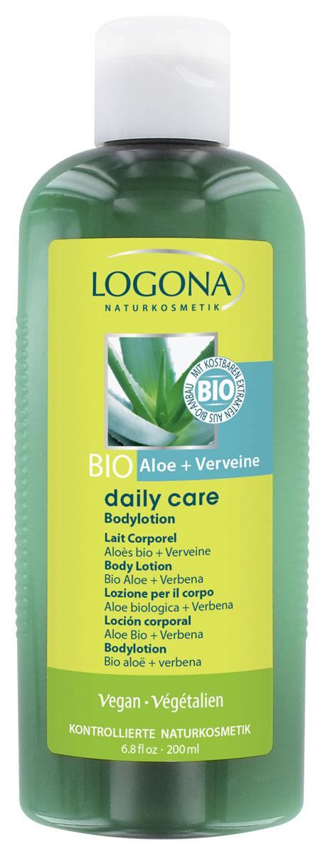 LOGONA Daily Care Лосьон для тела с Био-Алоэ и Вербеной 200 мл (Logona)