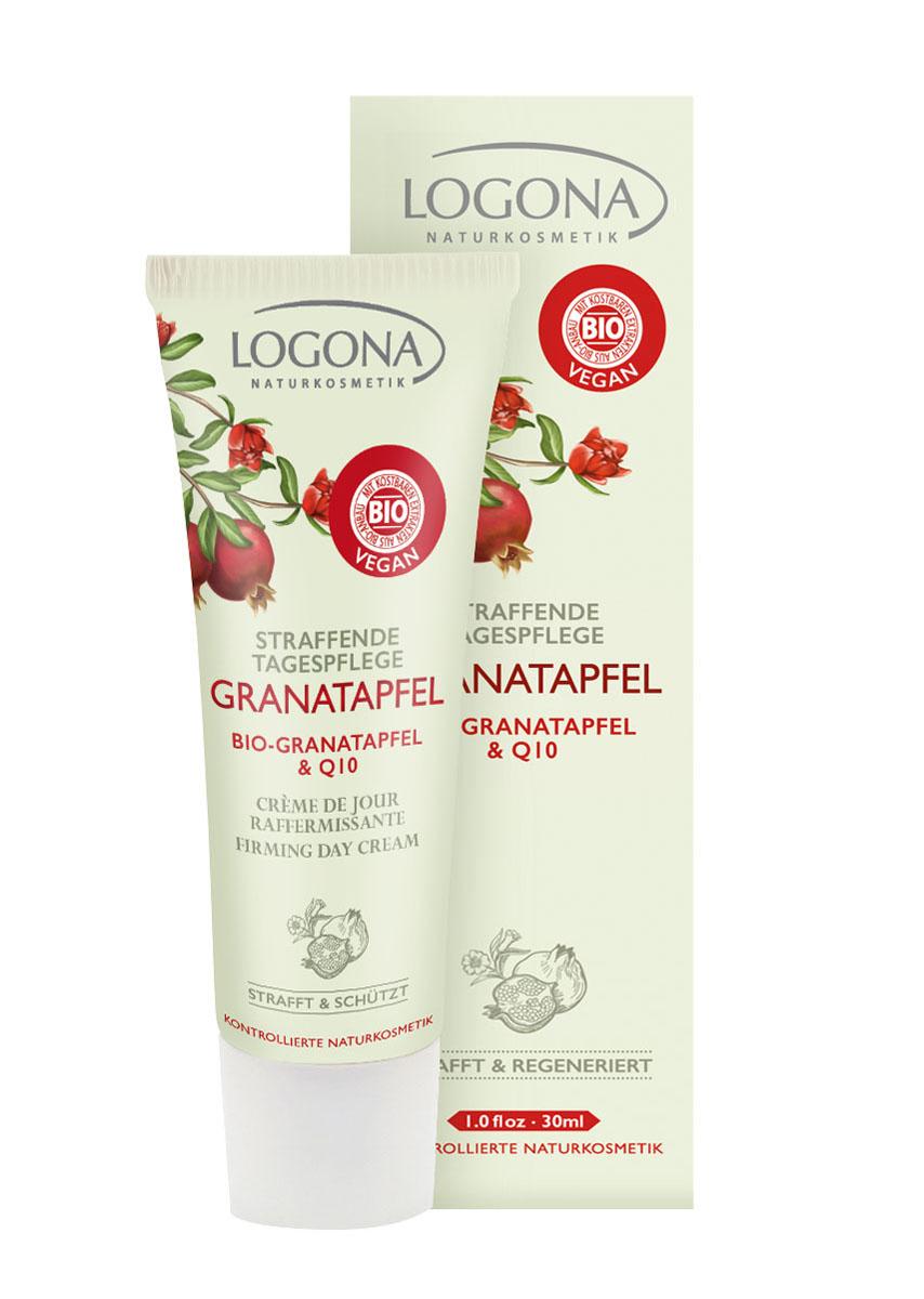 LOGONA Разглаживающий дневной крем с Био-Гранатом и Q10 30 мл (Logona)