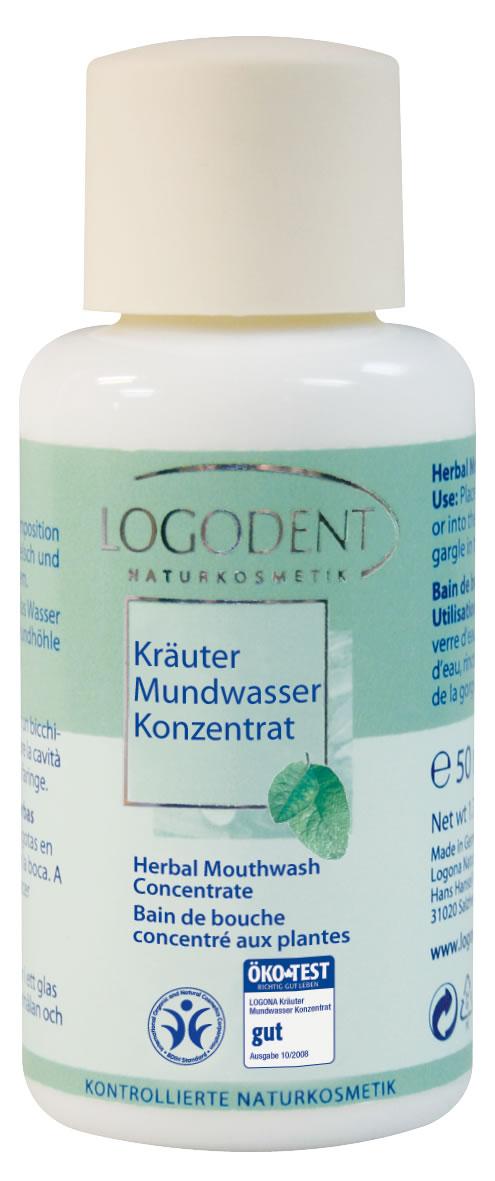 LOGODENT Травяной ополаскиватель-концентрат для полости рта 50 мл