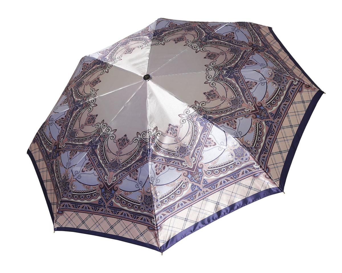 Зонт женский Fabretti, автомат, 3 сложения. L-16107-11L-16107-11Зонт женский Fabretti, облегченный суперавтомат, 3 сложения